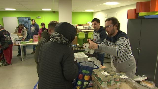 Des autistes bénévoles prêtent main forte à l'Armée du Salut