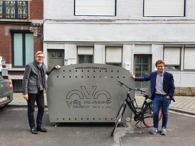 Des box vélos pour sécuriser le stationnement