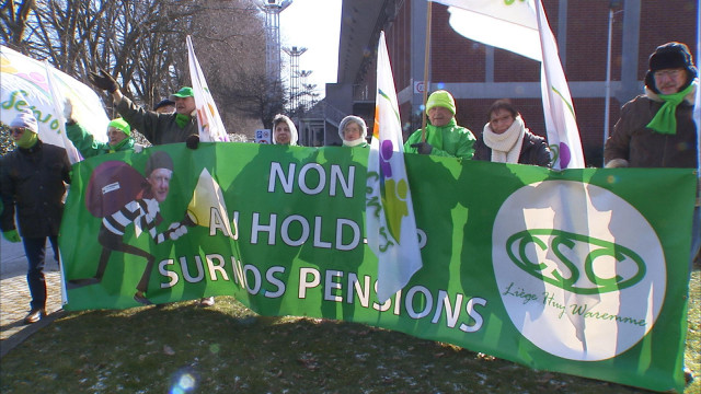 Des centaines de personnes à la marche de la solidarité à Liège