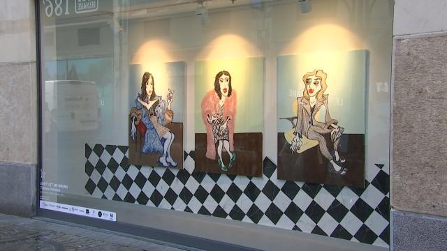 Des commerces vides s'ouvrent aux artistes