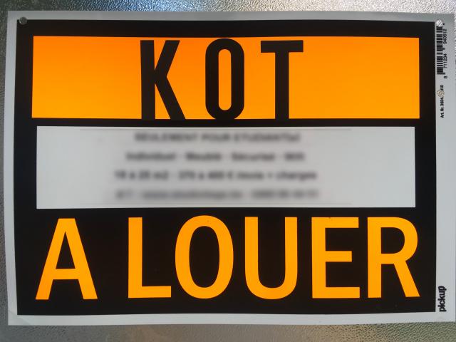 Des conseils pour trouver votre kot !