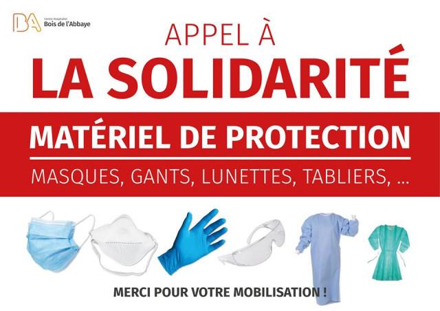 Des hôpitaux liégeois lancent un appel aux dons !