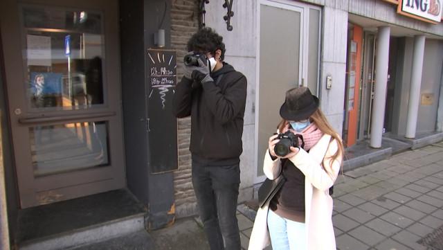 Des jeunes photographient le quotidien du COVID à Aywaille