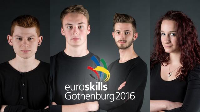 Des Liégeois à EuroSkills Göteborg