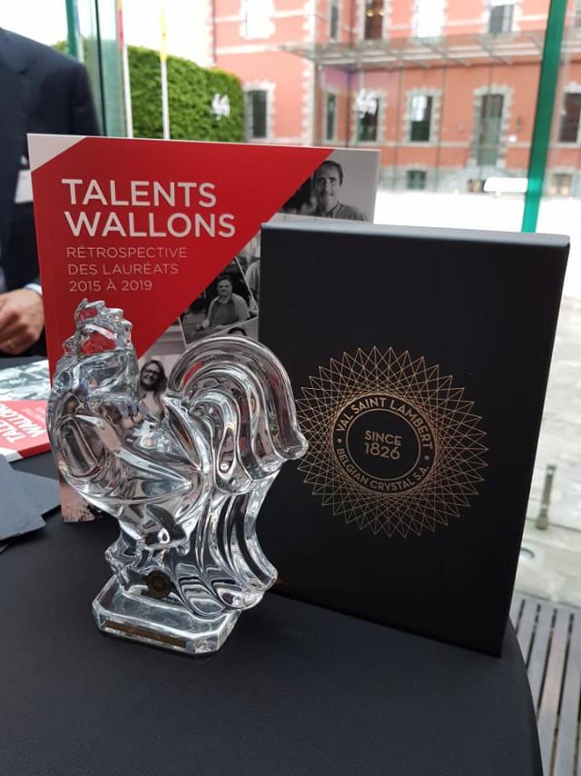 Des Liégeois reconnus Talents Wallons 2019