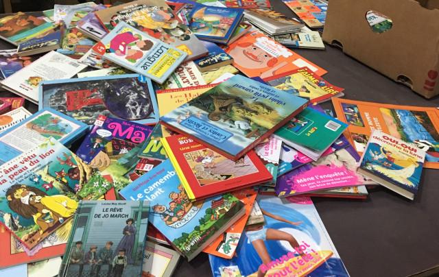 Des livres à destination d'enfants défavorisés