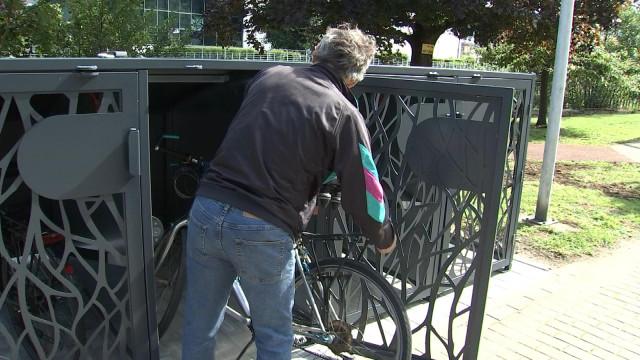 Des parcs à vélos sécurisés pour la commune de Chaudfontaine