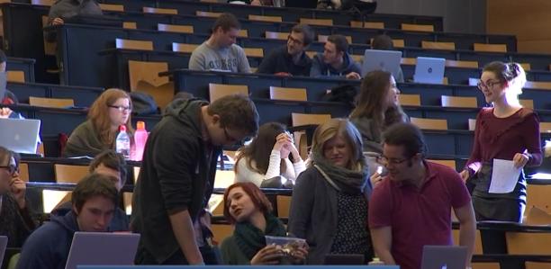 Des rhétoriciens en immersion à l'Université de Liège