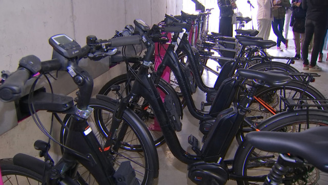 Des vélos partagés pour les travailleurs du Val-Benoît