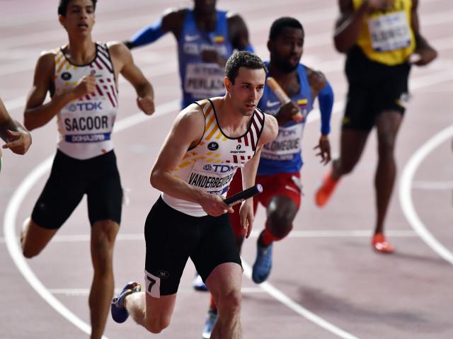 Doha : une médaille pour Robin Vanderbemden