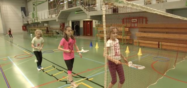 Du badminton au cœur de l'école