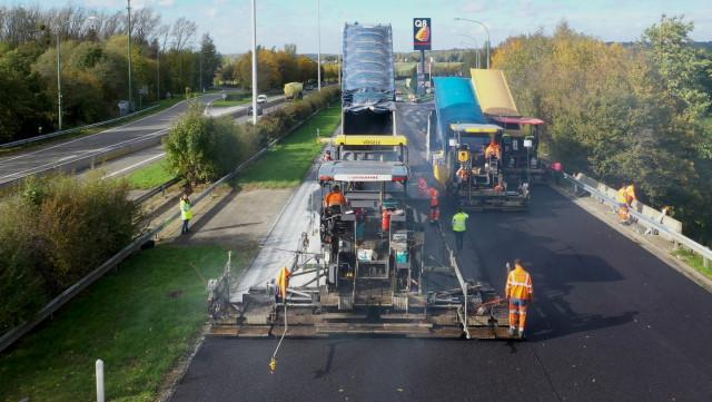"""E25/A26 : fermeture de l'accès """"Sprimont"""" vers le Luxembourg dès lundi"""