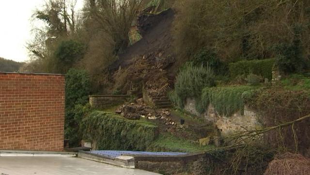 Effondrement à Huy : des pierres de plusieurs centaines de kilos