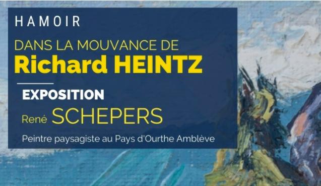 Ecole liégeoise du paysage : expo René Schépers à Hamoir