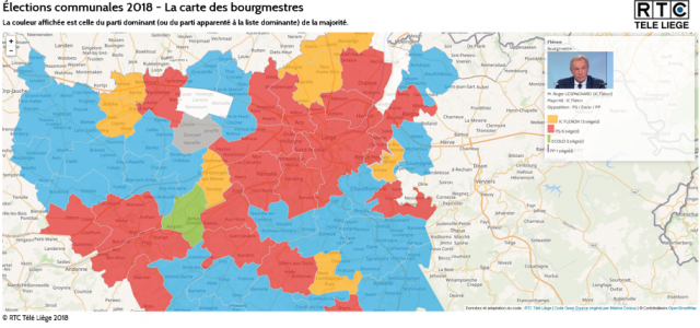 Elections 2018 : la carte des résultats dans votre commune