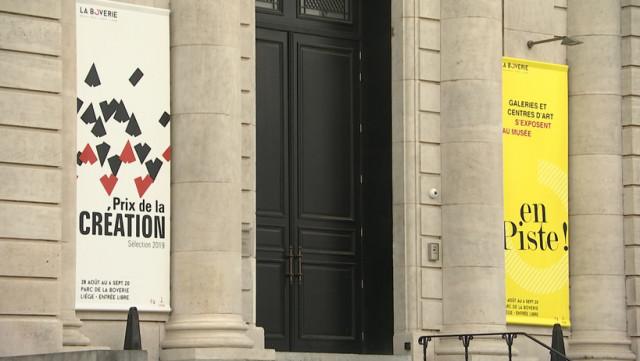 En piste et le Prix de la création 2019 au Musée de la Boverie