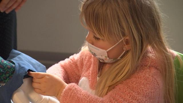 En pyjama à l'école, en solidarité avec les enfants hospitalisés