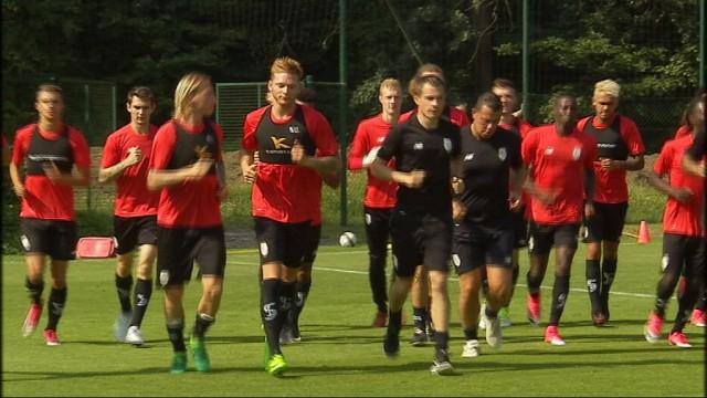 Entrainement ouvert aux supporters du Standard de Liège