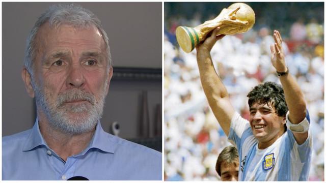 """Gerets: """"Je ne sais toujours pas comment Maradona m'a dribblé"""""""