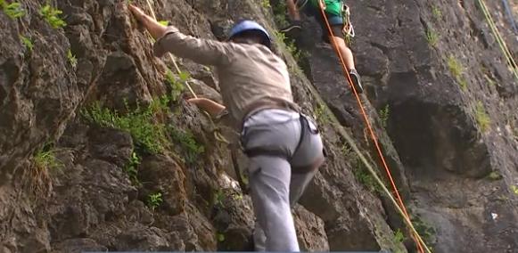 Escalade: les voies des rochers de Sy rouvertes