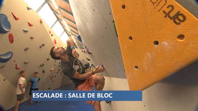 Escalade : salle de bloc à Liège
