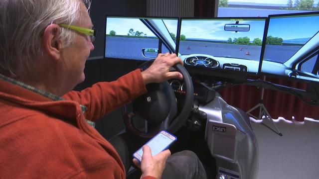 Esneux: les aînés testent leurs réflexes au volant