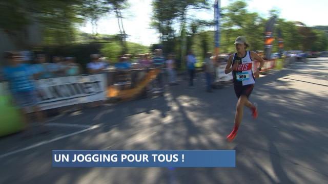 Esneux : un jogging en courant et en roulant