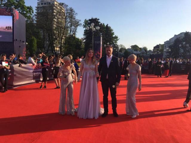 Eurovision : Blanche et le liégeois Pierre Dumoulin à Kiev