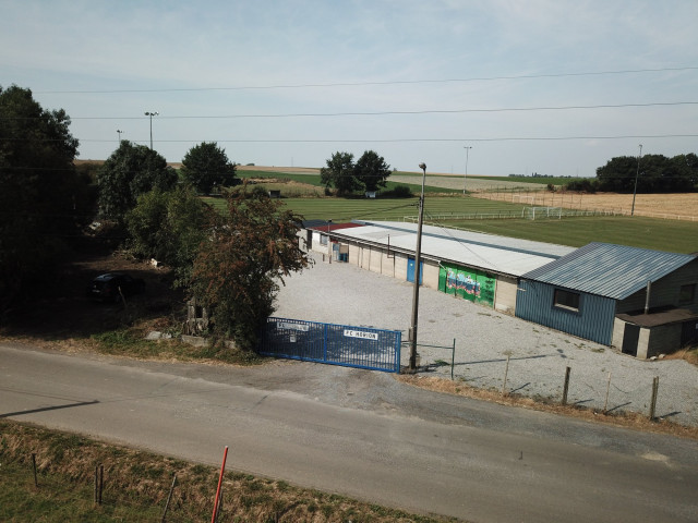 Explosion au terrain de foot de Horion-Hozémont : le président blessé