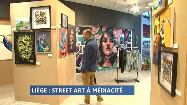 Expo Street & art à la Médiacité
