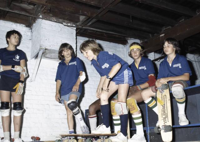 Exposition et livre : les débuts du skateboard en Belgique