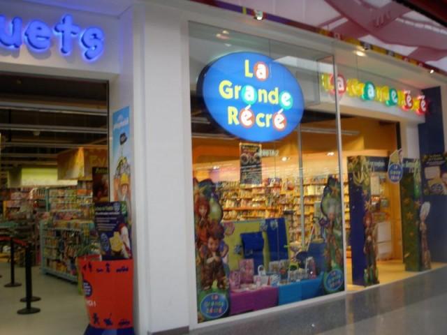Faillite des magasins de jouets La Grande Récré