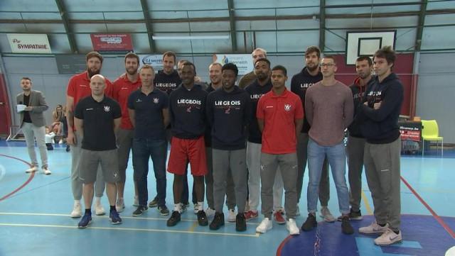 Fan Day de Liège Basket: l'équipe accueille 3 joueurs américains