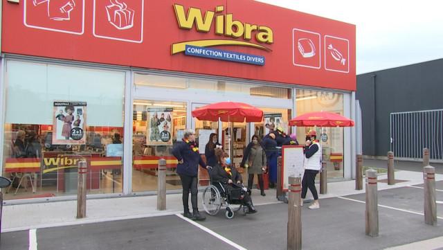 Fermeture de magasins Wibra en région liégeoise.