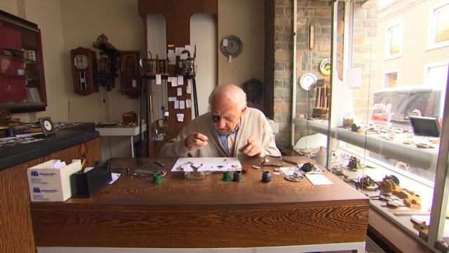 Fernand Tomsin, un horloger d'un autre temps