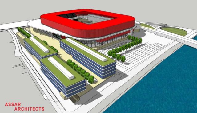 Feu vert de la Ville de Liège pour le stade du Standard