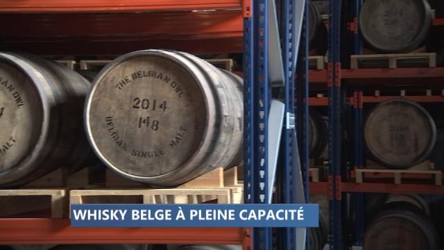 Fin de rupture de stock pour le whisky belge