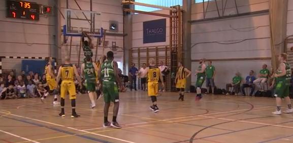 Finale de D3 basket : Belleflamme prend l'avantage