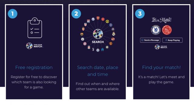 Find Your Match, le Tinder du foot, est lancé sur le web !