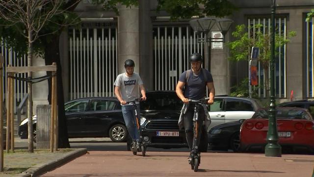 Les trottinettes Flash arrivent à Liège