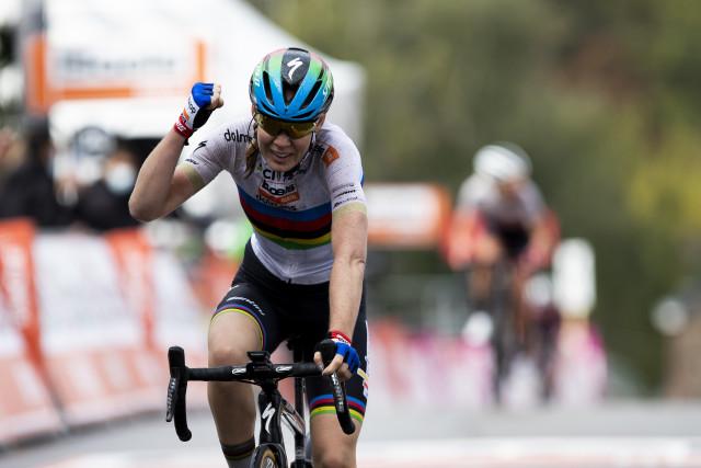 Flèche wallonne féminine : 6 ème succès consécutif pour Anna van der Breggen !