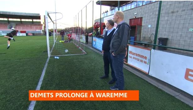 Football : Demets prolonge à Waremme