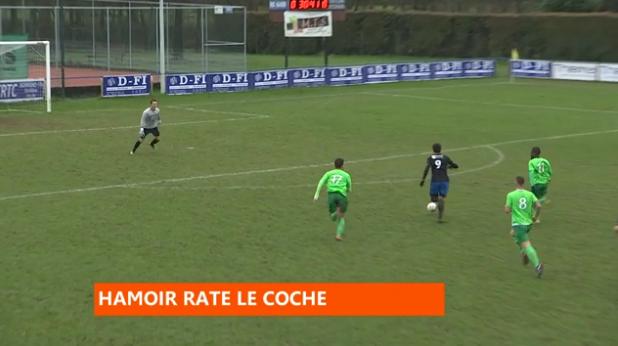 Football : Hamoir - La Calamine