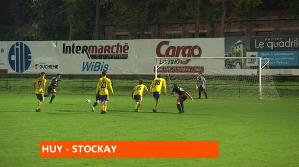 Football : Huy - Stockay