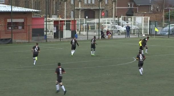 Football : Ougrée - Raeren Eynatten