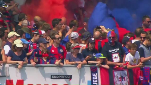 Replay : Football: RFCL Liège - Alost