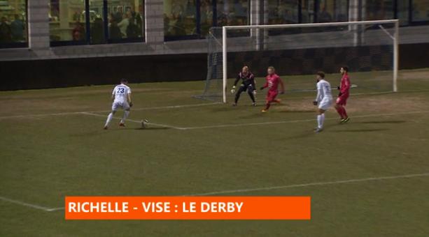 Football : Richelle - Visé, le derby