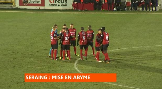 Football : Seraing - Alost