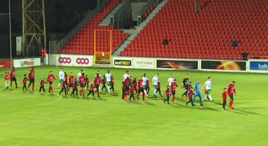Football : Seraing - Chatelet