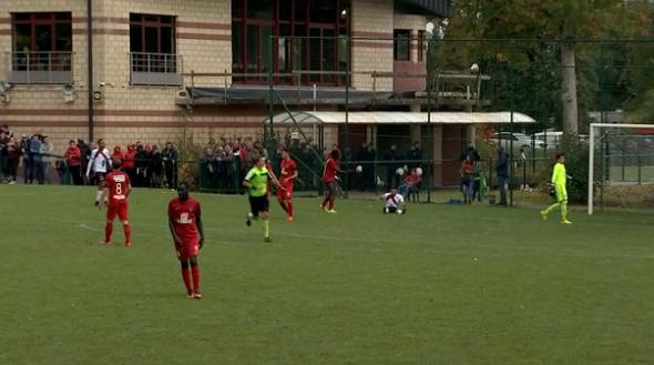 Football : Solières a aidé le RWDM à s'imposer !